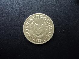 CHYPRE : 2 CENTS  1993   KM 54.3    SUP - Chypre