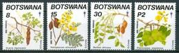 1990 Botswana Fiori Flowers Fleurs Frutta Fruit Natale Christmas Noel MNH** Fio214 - Botswana (1966-...)