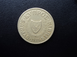 CHYPRE : 5 CENTS  1993   KM 55.3   TTB+ * - Cyprus