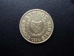 CHYPRE : 5 CENTS  1994   KM 55.3   SUP+ - Chypre