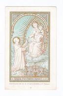 Regina Sanctissimi Rosarii, Notre-Dame Du Rosaire, Vierge à L'Enfant Et Saint Dominique, Aiguebelle - Images Religieuses