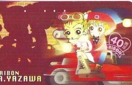 Télécarte Japon / 110-011 - MANGA - RIBON By AI YAZAWA - Moto (16.080)  ANIME Japan Phonecard - BD COMICS Telefonkarte - Fumetti