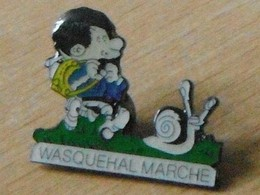 Escargot  Marche Wasquehal - Badges