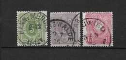LOTE 1690  ///  (C025) ALEMANIA IMPERIO   YVERT Nº: 36/38  COTE: 4,50€     ¡¡¡¡¡ LIQUIDATION !!!! - Alemania