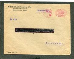 Deutsches Reich Brief 1922 Rotfrankerung - Deutschland
