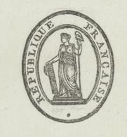 Avignon An 8 – 18.6.1800 - Signature Du  Préfet Pelet Secrétaire Général Jean  Empreinte Du  Sceau  Héraldique - Historische Documenten