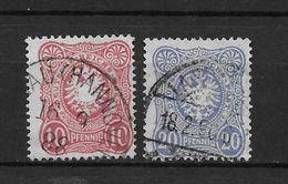 LOTE 1690  ///  (C025) ALEMANIA IMPERIO   YVERT Nº: 38/39  COTE: 3€     ¡¡¡¡¡ LIQUIDATION !!!! - Alemania