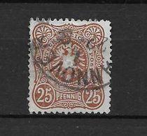 LOTE 1690  ///  (C025) ALEMANIA IMPERIO   YVERT Nº: 40  FECHADOR DE HANNOVER  COTE: 5,50€ - Alemania