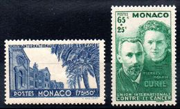 MONACO - YT N° 167-168 - Neufs ** - MNH - Cote: 48,00 € - Neufs