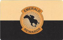 Emerald Downs - Auburn, WA - Casino Slot Card - Casino Cards