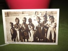 CARTOLINA AFRICA ORIENTALE SCUGNIZZI ERITREI CPA AK - Eritrea