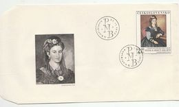 1977 CZECHOSLOVAKIA FDC Art  Peter BOHUN Stamps Cover - FDC