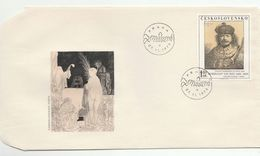 1973 CZECHOSLOVAKIA FDC Art REMBRANDT Stamps Cover - FDC