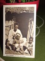 CARTOLINA AFRICA ORIENTALE IL MODERNO PARRUCCHIERE CPA AK - Eritrea