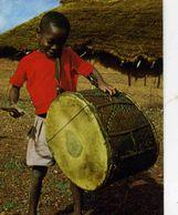 AFRIQUE   /     L 28   /  ENFANT AU TAMBOUR  CPM / CPSM   10 X 15 - Sin Clasificación
