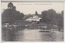 94 - NOGENT SUR MARNE - La Marne Et L'Etablissement Convert - Nogent Sur Marne