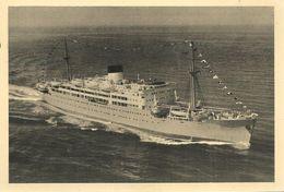 CPA-1957-PAQUEBOT-Mixte -FOCH-Cie FRAISSINET Et CYPRIEN FABRE-Lignes Cote Occidentale D Afrique-TBE - Dampfer