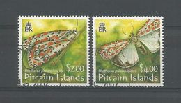 Pitcairn 2007 Butterflies Y.T. 671/672  (0) - Stamps