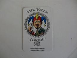 The Jolly Joker Czech Republic Pocket Calendar 1995 - Calendari