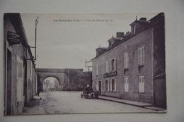 """La GUERCHE-pont Du Chemin De Fer-hote""""A. Villepreux""""-agence Assurance L'abeille - La Guerche Sur L'Aubois"""
