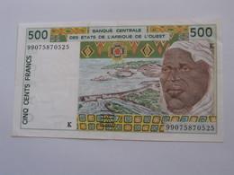 500 Francs 1999  - K = SENEGAL   **** EN ACHAT IMMEDIAT  **** - Sénégal