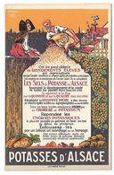 PUBLICITE - POTASSES D'ALSACE - Werbepostkarten