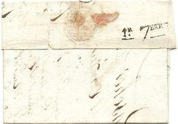 Cachet D'arrivée De NANTES (Loire Inférieure). 1er SEPTEMBRE . 1808 - Marcophilie (Lettres)
