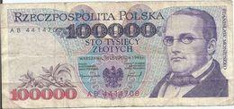Polonia - Poland 100.000 Zlotich 1993 Pick 160.a - Poland