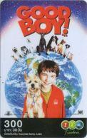 Mobilecard Thailand - 12Call - Movie,Film - Good Boy - Hund , Dog - Erdkugel (1) - Kino