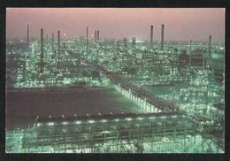 Kuwait Picture Postcard Aerial View Of Mina Abdulla Refinery View Card - Kuwait