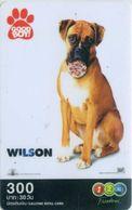 Mobilecard Thailand - 12Call - Movie,Film - Good Boy - Hund , Dog (5) - Kino