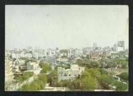 Saudi Arabia Old Picture Postcard Aerial View Jeddah City View Card - Dubai