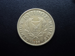 CHYPRE : 10 CENTS  1988   KM 56.2    SUP - Chypre