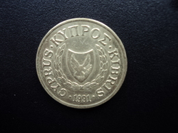 CHYPRE : 10 CENTS  1991   KM 56.3    TTB - Cyprus