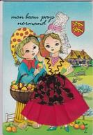 (Alb 1.8) Carte  Postale: Habillée, Brodée Ou Habillée Et Brodée - Cartes Postales