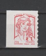 FRANCE / 2013 / Y&T N° AA 851a ** : Ciappa Adhésif TVP LP 20g (de Carnet) + Bord - état D'origine - Francia