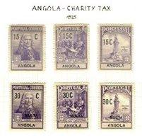 ANGOLA, Postal Tax, PB 1/6, * MLH, F/VF, Cat. € 9 - Revenue Stamps