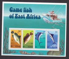 Kenya, Scott #71a, Mint Never Hinged, Fish, Issued 1976 - Kenya (1963-...)