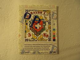 SUISSE -  2000-bloc 30-neuf-1643-1646                    Cote   9  Net   3 - Blocs & Feuillets