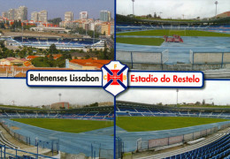 2) AK Stadion Postkarte Estadio Do Restelo Belenenses Lissabon Lisboa Lisbon Belem Portugal Stadium Stadio Estadio Stade - Fussball