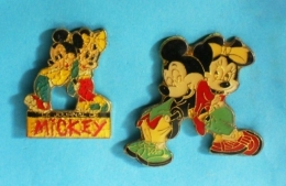 2 PIN'S //   ** JOURNAL / MICKEY & MINIE ** - Badges