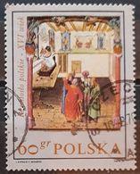 POLONIA 1969 Polish 16th Century Trades In Paintings. USADO - USED. - 1944-.... Republic