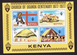 Kenya, Scott #83a, Mint Never Hinged, Church Of Uganda, Issued 1977 - Kenya (1963-...)