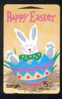 New Zealand - Gift Cards - 1995 Happy Easter $5 - NZ-G-14A - VFU - New Zealand
