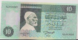 LIBYA=N/D   10  DINARS     P-61    UNC - Libië