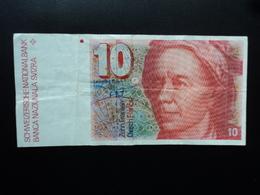 SUISSE : 10 FRANKEN   (19)83   P 53e   Signature 55    TTB+ - Suisse