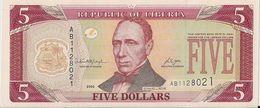 LIBERIA=2006    5  DOLLARS     P-26    UNC - Liberia