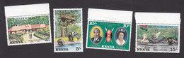 Kenya, Scott #84-87, Mint Hinged, Silver Jubilee, Issued 1977 - Kenya (1963-...)