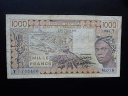 TOGO : 1000 FRANCS  1986   P 807Tg *   TTB - Togo