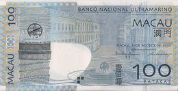 MACAU=2005   100  PATACAS     P-82    UNC - Macau